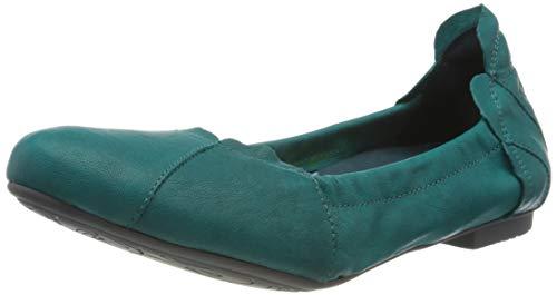 Think! Damen 686161_Balla Geschlossene Ballerinas, Blau (Opal 79), 40 EU