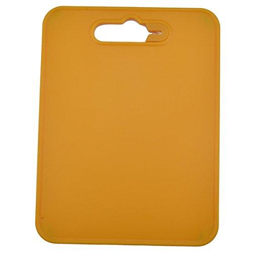 Oumosi Portable Outdoor picnic camping tagliere con affilacoltelli cote per portatile accessori da cucina Yellow