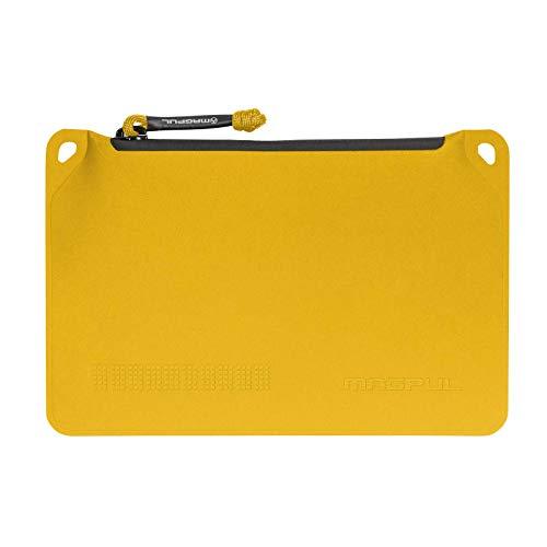 Magpul Bolsa DAKA com zíper para ferramentas e equipamentos táticos, amarelo, pequeno (15,24 cm x 23,86 cm) (MAG856-720)
