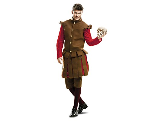 My Other Me - Disfraz Shakespeare adulto, talla M-L (Viving Costumes MOM02197)