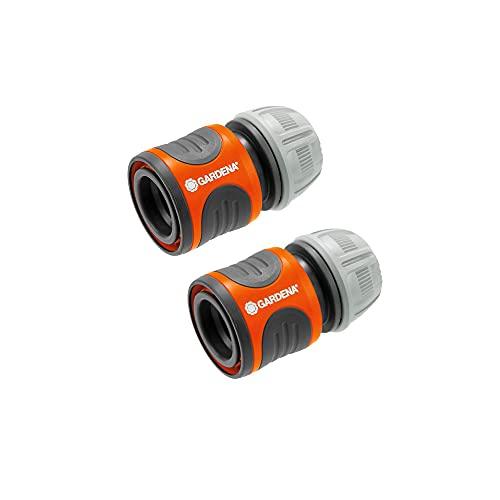 Gardena Fast per tubo Ø INT. 13-15 mm. Contenuto: 2 x 18215 connettori, standard