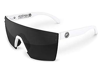 Heat Wave Visual Lazer Face Z87 White Sunglasses in Black Lens