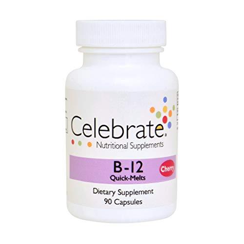 Celebrate Vitamins B12 Sublingual - Cherry - 90 Count