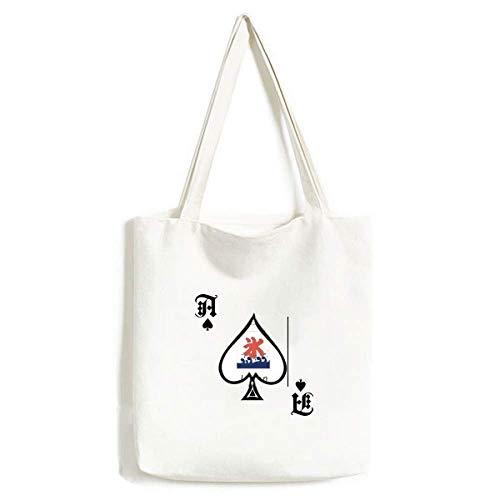 Traditionelle japanische Flagge, Handtasche, Pokerspaten, waschbare Tasche