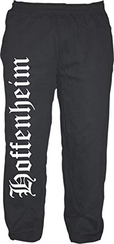 HB_Druck Hoffenheim Jogginghose - Altdeutsch - Sweatpants - Jogger - Hose L Schwarz