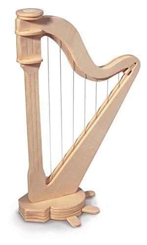 Quay Woodcraft Kit - Harp. Für Harfe