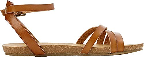 Blowfish Damen Galie Römersandalen, Brown (Scotch), 39 EU(6 UK)