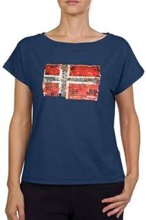 Seithem W Dark Denim Camiseta para Mujer