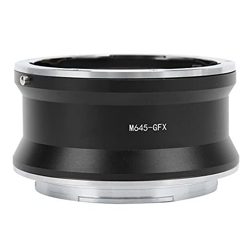 T opiky Adaptador de Lente, Anillo Adaptador de Lente Manual Completo M645 ‑ GFX, Lente para Mamiya M645 a cámara con Montura para Fujifilm GFX, para Fujifilm GFX 50S / GFX50R / GFX 100 / GFX 100S