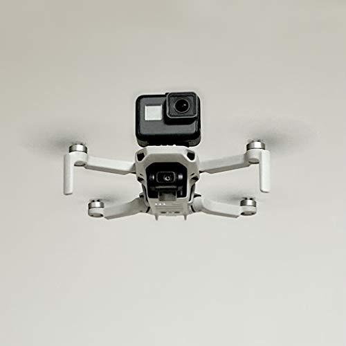 CUEYU Kamera Stabilisator Adapter Mount für DJI Mavic Mini Drone, Sportkamera Fixed Halter Kompatibel mit DJI Mavic Mini Drone