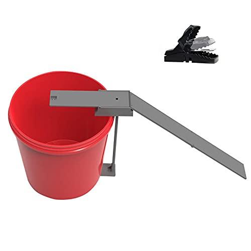 SXDYLJC Trampas para ratones, trampas para ratones, trampas para ratones, reutilizables para roedores, mascotas para niños, uso en interiores y exteriores, lavable (una pequeña ratonera)
