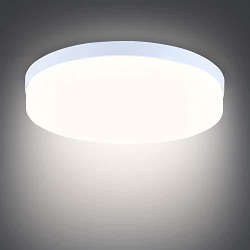 LED Deckenleuchte 36W, SUNZOS 3240LM Deckenlampe für Schlafzimmer, Küche, Flur, Balkon, Keller, Neutralweiß 4000K, 23cm Durchmesser