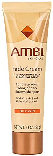 Ambi Skincare Fade Cream for Oily Skin   Dark Spot Remover for Face and Body   Treats Skin Blemishes & Discoloration   Improves Hyperpigmentation   2 Ounce