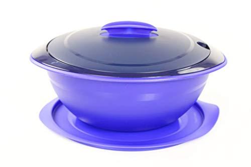 Tupperware Servieren Thermo-Duo 2,5 L blau Warmhalten Iso-Duo 35574