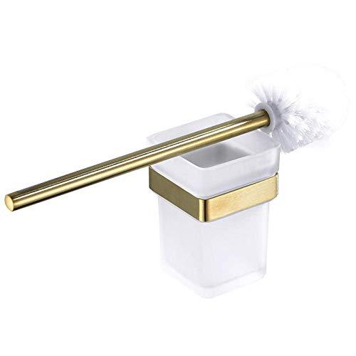 Brosse de toilette, Premier Housewares Acier inoxydable - Ensemble de brosse de toilette en acier inoxydable Salle de bains Brosse de toilette de lavage de ménage Brosse de toilette à manche long Bro