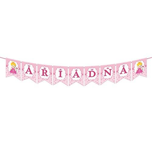 EuroFiestas Guirnalda Nombre Ariadna, Ana, Ara, Ainara, Adriana, Naiara, Aina, Nadia, Naia, Diana o Ariana
