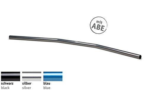 LSL Lenker Drag Bar Wide Alu silber poliert mit ABE
