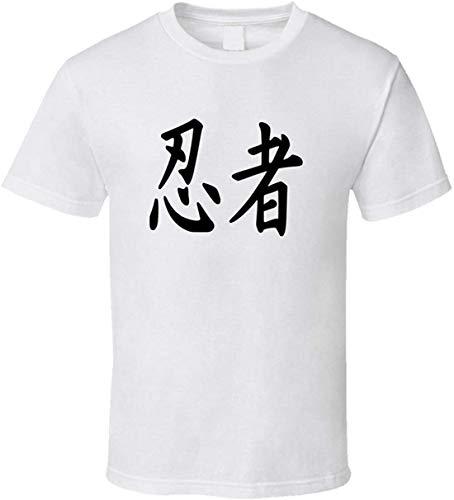 Ninja Símbolo Japonés Camiseta Deporte Lucha Cultura MMA Japón Personaje Camisas Negro