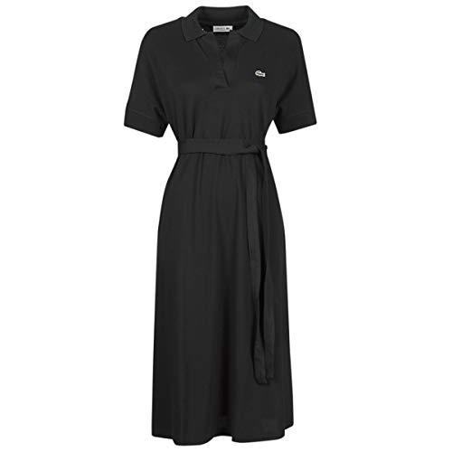 Lacoste EF2302 Vestido, Black, XS para Mujer