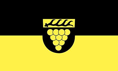 Unbekannt magFlags Tisch-Fahne/Tisch-Flagge: Weinstadt 15x25cm inkl. Tisch-Ständer