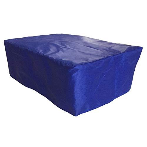 JIANFEI Housse Protection Salon De Jardin Grand Dispositif Table Chaise, 3 Couleurs 11 Taille Personnalisable (Couleur : Bleu, taille : 190x190x70cm)