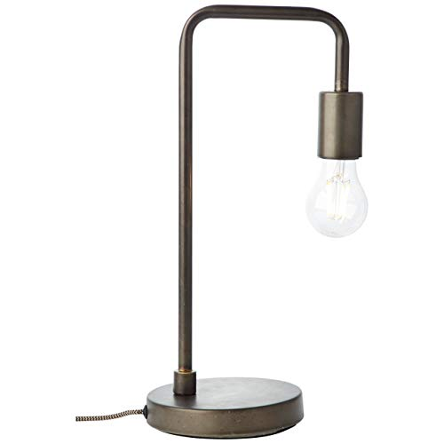 Tafellamp Fila industrieel zwart 40cm E27