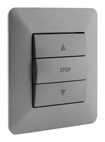 Artezo - Interruptor de control para persianas enrollables Titanium