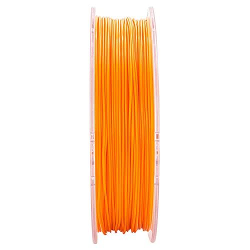 3D Printer Filament 2.85mm TPU 95A Material, Good Elasticity, Easy to Print, High compatibility, 750g Spool-Orange_2.85mm