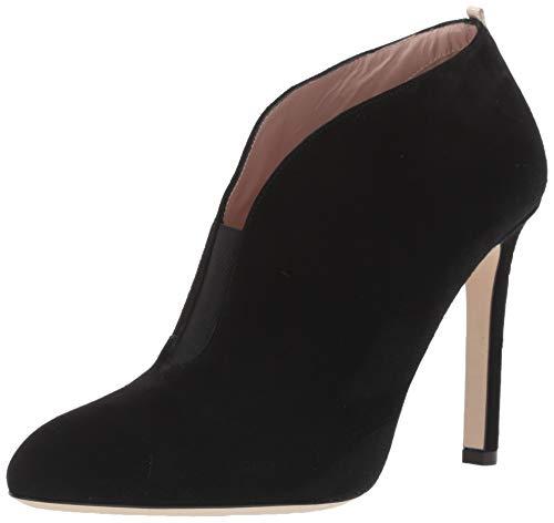SJP by Sarah Jessica Parker Damen Trois Ankle Boot, Schwarze Velourslederoptik, 36.5 EU