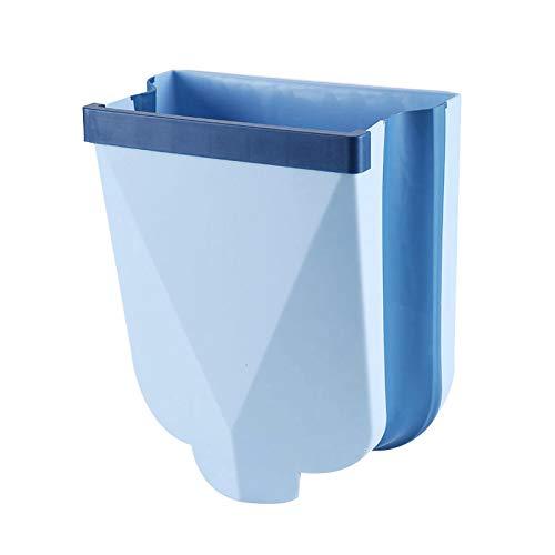 XINLANYU Wall-Mounted Folding Trash can Kitchen Cabinet Door Hanging Trash can Trash Truck Trash can