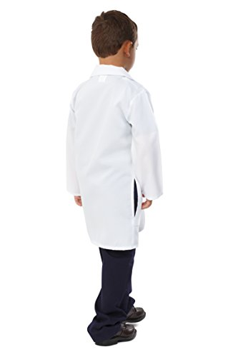 Dress Up America Unisexo Doctor Bata de laboratorio para niños