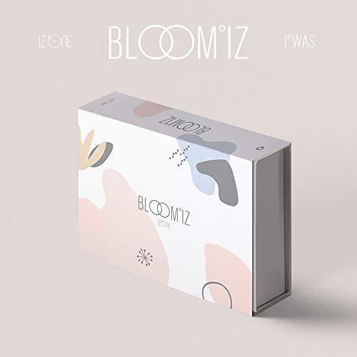 IZ*One IZONE Bloom*IZ (Vo.1) - Álbum, cartel plegado y juego de tarjetas fotográficas extra Yo era Ver.