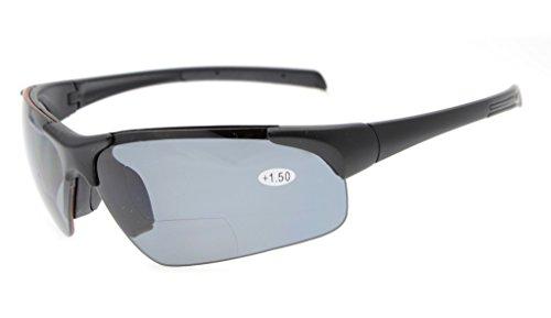 Eyekepper TR90 Deportes irrompibles Semi-Rimless gafas de so