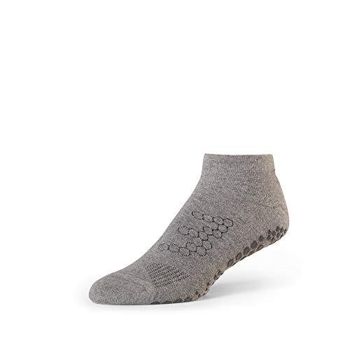 Sissel BASE33 Lowrise Grey Medium Anti-Rutsch-Socken für Herren, Grau, FR: M (Größe Hersteller: M)