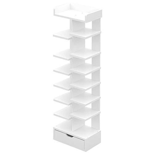 Zapateros Espacio de almacenamiento de múltiples capas for el hogar Rack de...