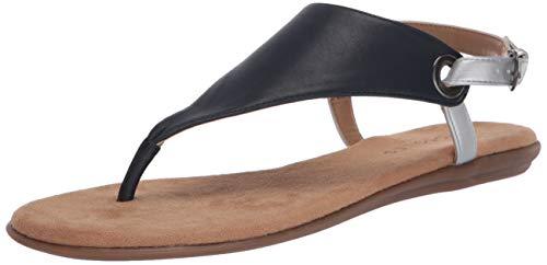 Aerosoles Women's Thong Sandal Flip-Flop, Navy, 9 B (M)