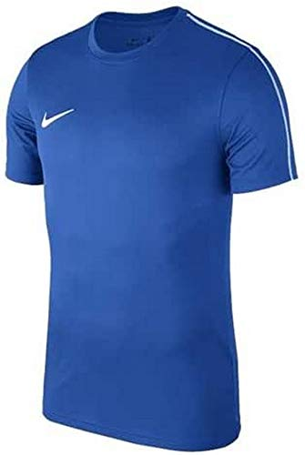 Nike Kinder Dry Park18 Football Top T-Shirt, Black/White, XL