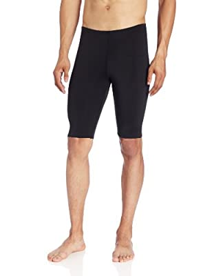 Kanu Surf Men's Competition Jammers Swim Suit, Black, 32