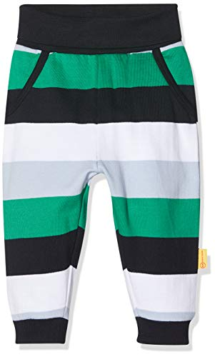Steiff Hose, Pantalon Pantalon Bébé garçon, Multicolore (Black Iris 3032), 80 (Taille fabricant: 80)
