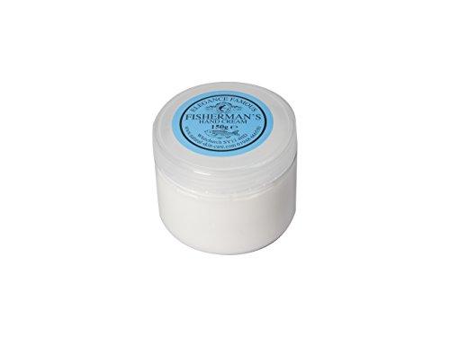 Crème Mains Pêcheur 150g. Fabriqué par Elegance Natural Skin Care en Grande-Bretagne. Travailler à l'extérieur? Mains dans et hors de l'eau