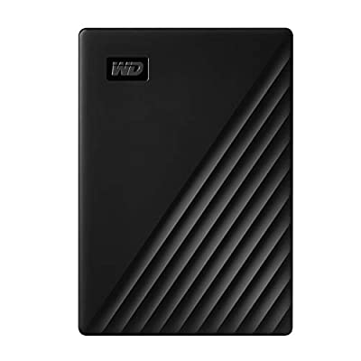WD 2 TB My Passport Portable Hard Drive with Password Protection and Auto Backup Software - Black - Works with PC, Xbox and PS4