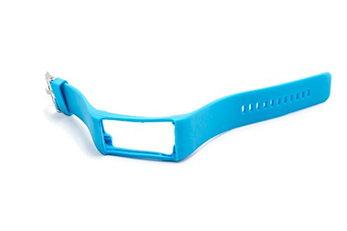 vhbw Ersatz Armband 24cm passend für Polar A360, A370 Fitness Uhr, Smart Watch - Silikon blau