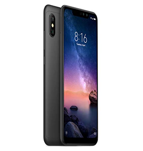 Redmi Mi Note 6 Pro (Black, 6GB RAM, 64GB Storage)