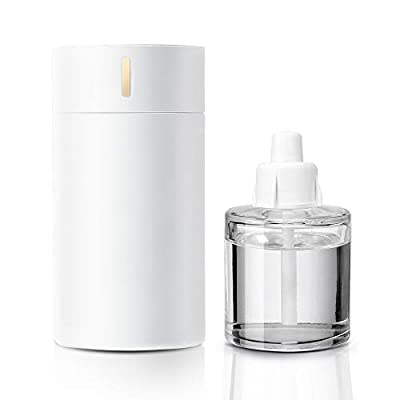Essential Oil Diffuser Waterless&Wireless with 100ML Lemon Essential Oil