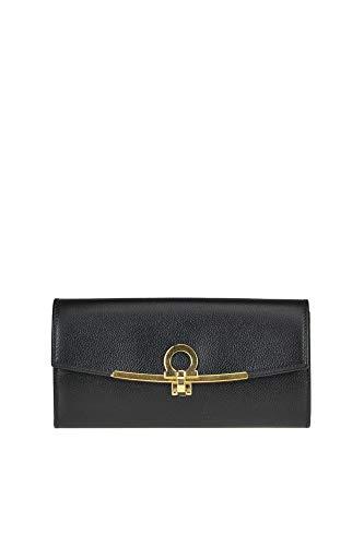 Salvatore Ferragamo Luxury Fashion Donna MCGLACR000006003I Nero Portafoglio | Stagione Outlet