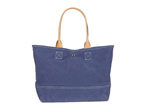 J.Crew Washed Canvas Large Tote Arctic Ocean One Size