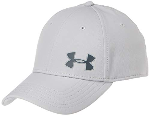 Under Armour Herren Men's Golf Headline 3.0 Kappe mit klassischer Passform, Cap mit integriertem Schweißband, Schwarz (Mod Gray/Pitch Gray (012), Medium/Large