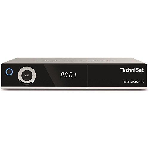 TechniSat TECHNISTAR S6 - HDTV Satelliten-Receiver (DVB-S/S2, HD-Receiver, PVR Aufnahmefunktion und Timeshift, HDMI, CI+ Schnittstelle, App-Steuerung, USB, Unicable tauglich, Serientimer) silber
