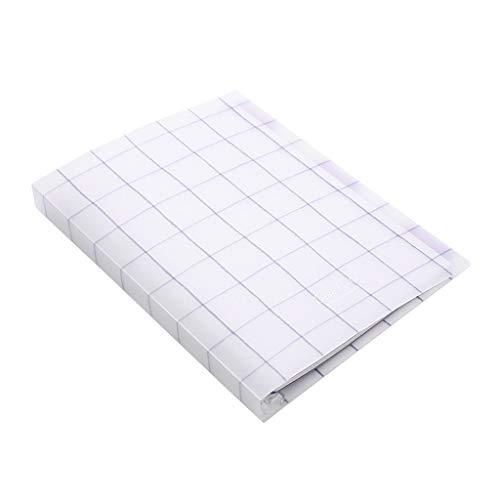 Blocs y Cuadernos de Notas Cuaderno A5 B5 Oficina Reunión Registro Cuadrícula Cuaderno de Hojas Sueltas Transparente Diario Cuadrícula Papel Cuaderno Blocs y Cuadernos de Notas