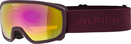 ALPINA Scarabeo Jr. - Bañador para niña HM - Gafas de esquí y Snowboard (Talla única)